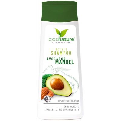 Atstatomasis šampūnas su avokadais ir migdolais (200 ml)