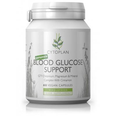 """GTF chromas, magnis ir mineralų kompleksas su cinamonu """"Blood Glucose Support"""". Maisto papildas (60 kaps.)"""