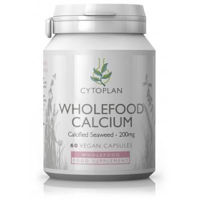 """Kalcis """"Wholefood calcium"""" iš jūros dumblių. Maisto papildas (60 kaps.)"""