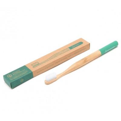 Bambukinis dantų šepetėlis (1 vnt.)