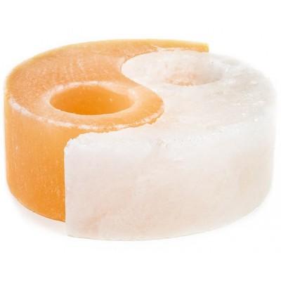 """Himalajų druskos žvakidė """"Yin Yang"""" (1.6 kg)"""