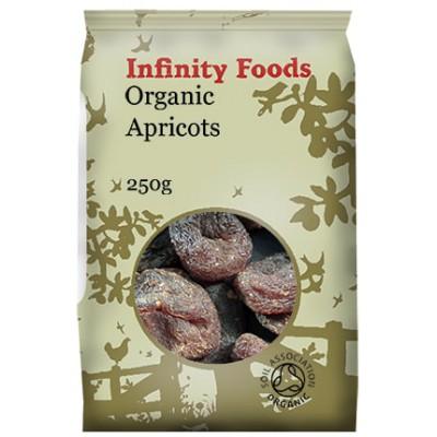 Džiovinti abrikosai, ekologiški (250 g)