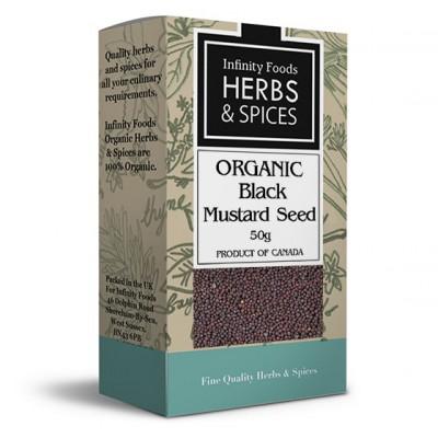 Juodųjų garstyčių sėklos, ekologiškos (50 g)