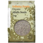 Liucernos sėklos (alfalfa), ekologiškos (125 g)