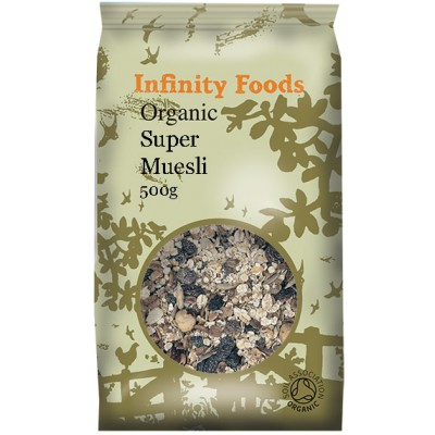 "Sausi pusryčiai ""Super muesli"", ekologiški (500 g)"