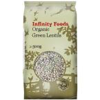 Žalieji lęšiai, ekologiški (500 g)