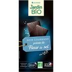 Juodasis šokoladas su druska, ekologiškas (100 g)