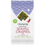 """Jūros daržovių traškučiai """"Seaveg crispies"""" su čil..."""