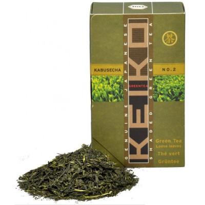 "Japoniška žalioji arbata ""Kabuse No. 2"", biri, ekologiška (50 g)"