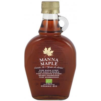 Klevų sirupas MANNA MAPLE, ekologiškas (250 ml)