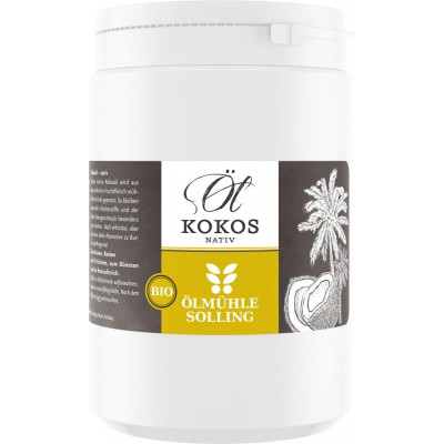 Kokosų aliejus plastmasiniame inde, ekologiškas (1 l)