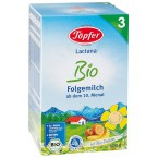 LACTANA BIO 3 tolesnio maitinimo pieno mišinys kū...