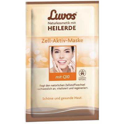 Ląsteles aktyvinanti Luvos® molio kaukė su Q10 (2 vnt. x 7.5 ml)