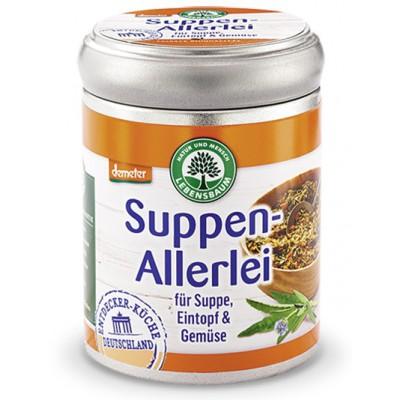 Prieskonių mišinys sriuboms, troškiniams ir daržovėms, biodinaminis (75 g)