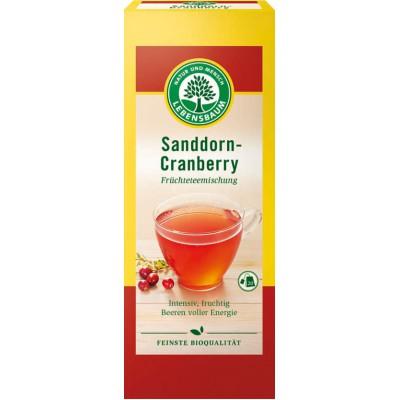 Šaltalankių ir spanguolių arbata, ekologiška (20 pak. x 2.5 g)