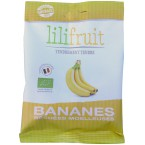Minkšti rehidruoti bananai, ekologiški (70 g)