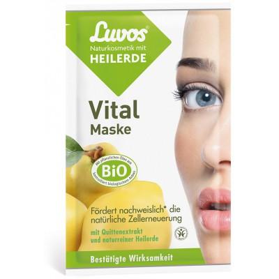 """Luvos® molio kaukė """"Vital"""" (2 vnt. x 7.5 ml)"""