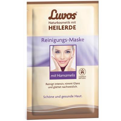 Luvos® molio valomoji kaukė su hamameliais (2 vnt. x 7.5 ml)