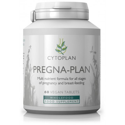 "Maisto papildas nėščiosioms ir maitinančioms krūtimi ""Pregna-plan"" (60 tabl.)"