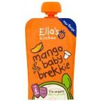 Mangų tyrelė su jogurtu kūdikiams nuo 6 mėn., ekologiška (100 g)