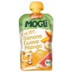 Mauglio bananų, gvajavų ir mangų tyrelė, biodinaminė (100 g)