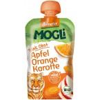 Mauglio obuolių, apelsinų ir morkų tyrelė, biodina...