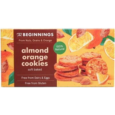 Migdolų sausainiai su apelsinais (80 g)