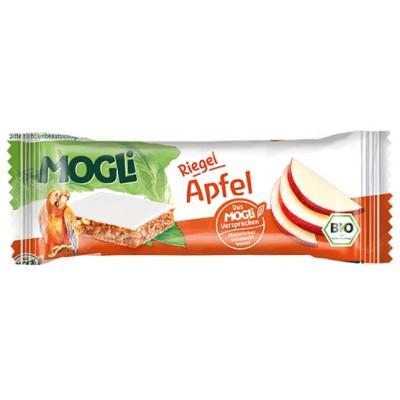Batonėlis su obuoliais, ekologiškas (25 g)
