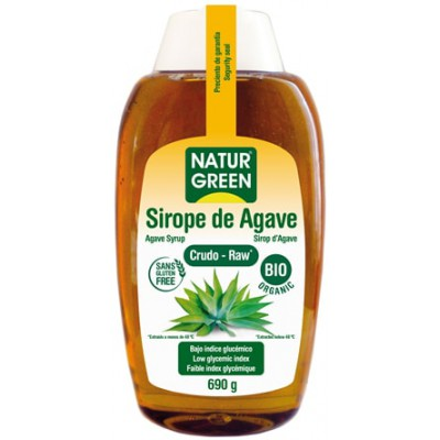 "Agavų sirupas ""Raw"", ekologiškas (500 ml)"