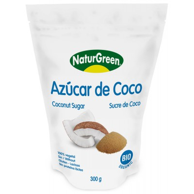 Kokosų žiedų cukrus, ekologiškas (300 g)