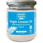 Šalto spaudimo kokosų aliejus, ekologiškas (430 ml)