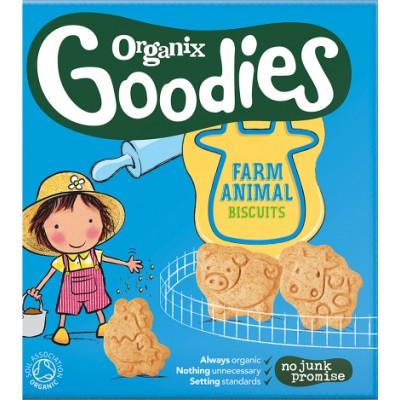 """Sausainiai vaikams """"Gyvulėliai"""", ekologiški (100 g)"""