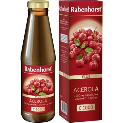 Acerolos vaisių sultys su minkštimu (450 ml)