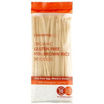 Rudųjų ryžių makaronai, be glitimo, ekologiški (200 g)