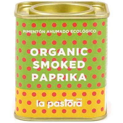 Rūkytos paprikos milteliai, ekologiški (75 g)