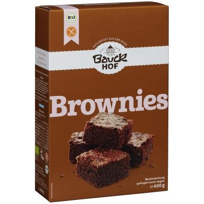 """Ruošinys """"Brownies"""" pyragui su šokolado gabalėliais, ekologiškas (400 g)"""