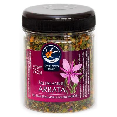 Šaltalankių arbata su siauralapiu gauromečiu (35 g)