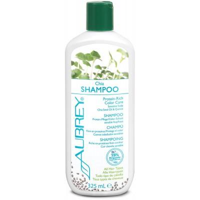 Čija šampūnas su baltymais jautriai galvos odai. Saugo spalvą (325 ml)