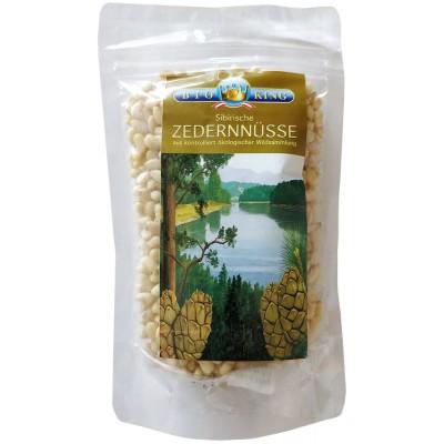Sibiro kedrų riešutai, ekologiški (100 g)