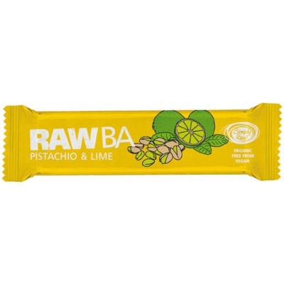 Batonėlis su pistacijomis ir žaliąja citrina, ekologiškas (40 g)