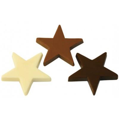 Šokoladinės žvaigždutės, ekologiškos (100 g)