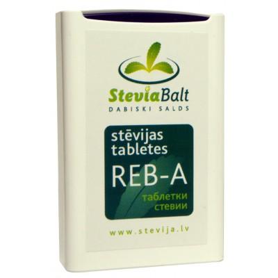 Steviolio glikozido pagrindu sudarytas saldiklis, tabletės REB-A (100 tabl. x 60 mg)
