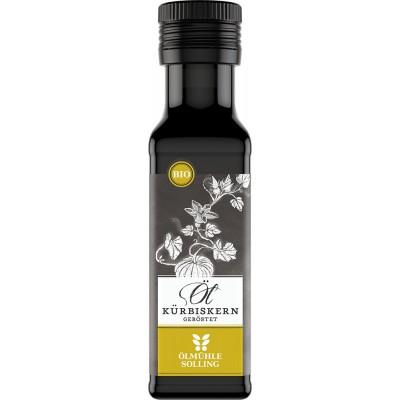 Švelniai skrudintų moliūgų sėklų aliejus, ekologiškas (100 ml)