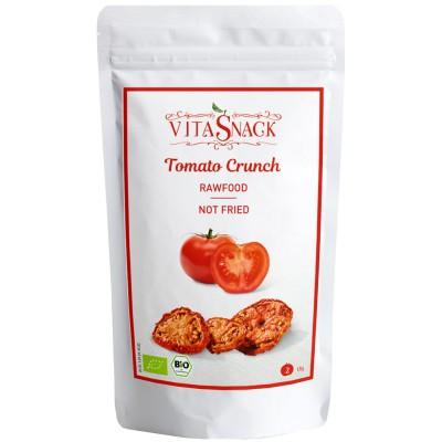 Traškūs džiovinti pomidorai, ekologiški (18 g)