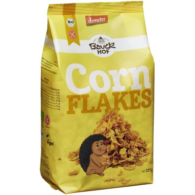 Traškūs kukurūzų dribsniai, biodinaminiai (325 g)