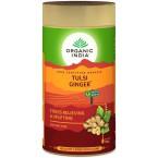 Tulsi imbiero arbata, biri, ekologiška (100 g)