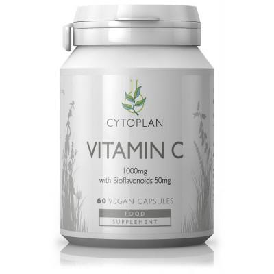 Vitaminas C su bioflavonoidais. Maisto papildas (60 kaps.)