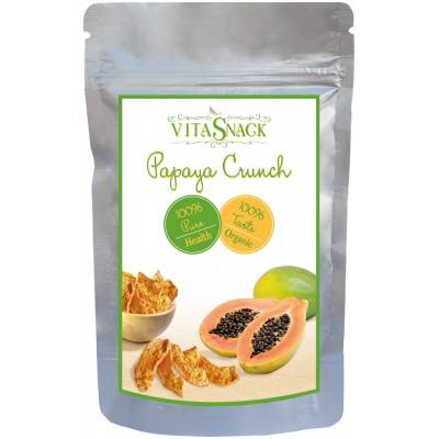 Traškios džiovintos papajos, ekologiškos (24 g)