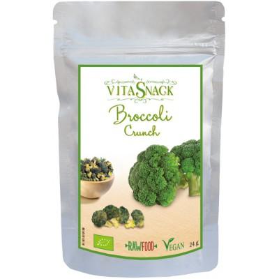 Traškūs džiovinti brokoliai, ekologiški (24 g)