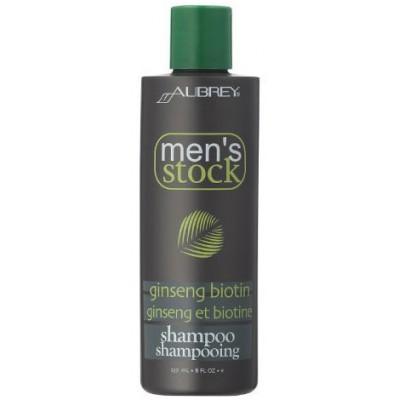 Ženšenio su biotinu šampūnas vyrams (237 ml)